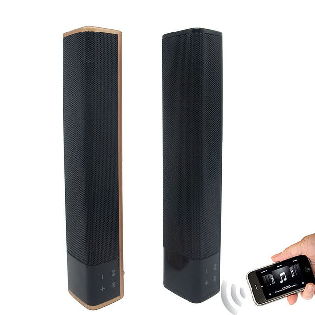 Fashion Portable Wireless Bluetooth Speaker 10w x 2 Bass Double Horns Stereo Soundbar Subwoofer Support TF Card Phone Speaker