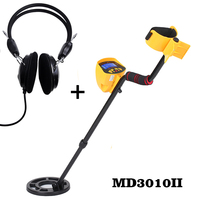 MD3010II Metal Detector Professional Underground Metal Detector Sensitive Gold Digger Treasure Hunter Metal Finder Seeking Tool