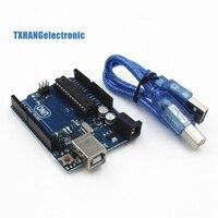 UNO R3 MEGA328P ATMEGA16U2 Development Board For Arduino USB Cable New