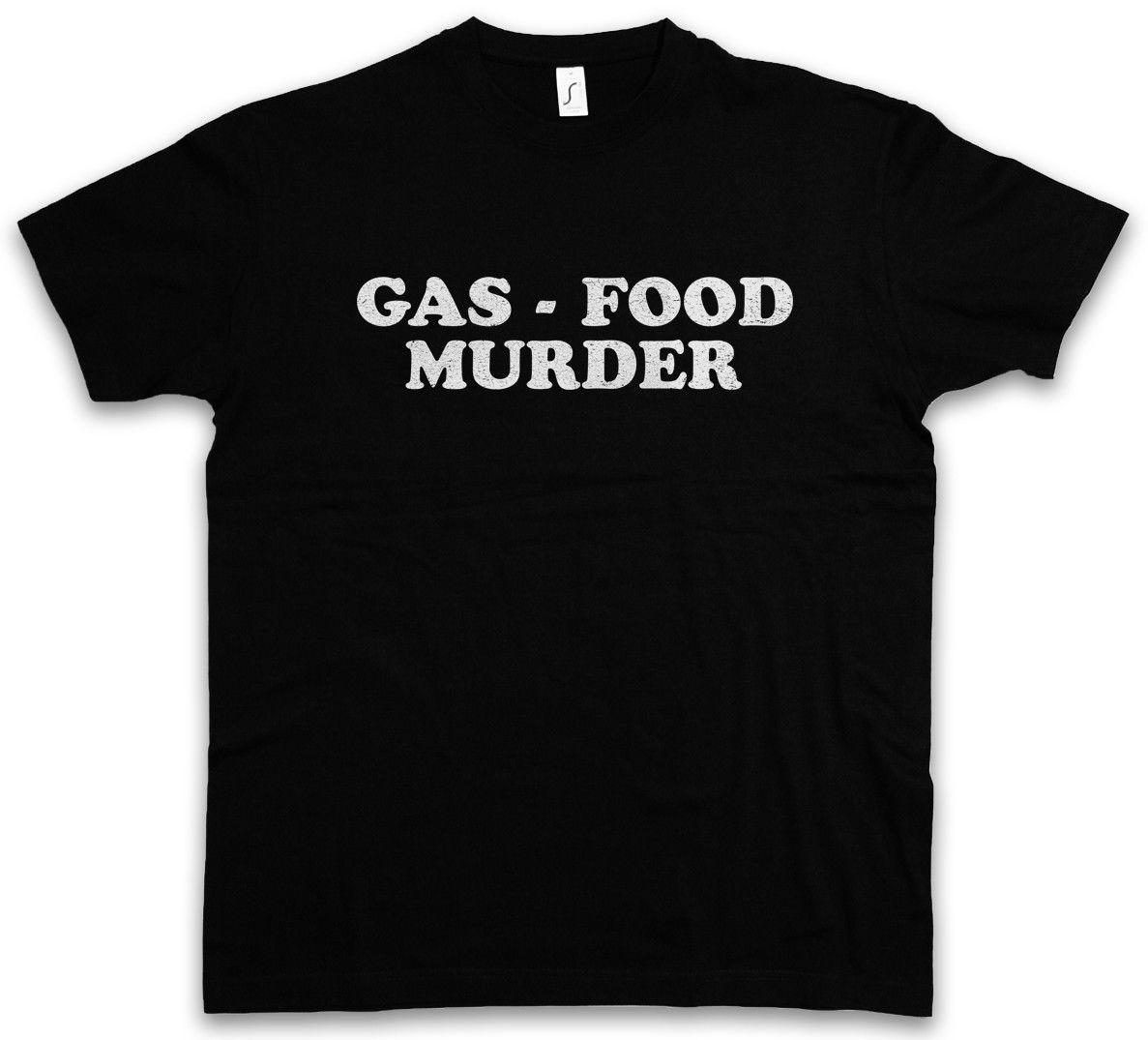 GAS FOOD MURDER T-SHIRT Haus der Zombie Thousand 1000 Corpses Tausend Leichen