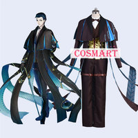 Anime Fate Grand Order FGO Sherlock Holmes Cosplay costume Uniform Halloween costume for Adult New free shipping