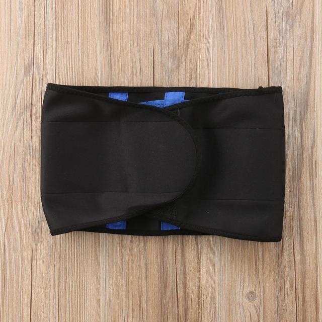 Hot Body Shapers Unisex Waist Cincher Trimmer Tummy Slimming Belt Latex Waist Trainer FitnessPostpartum Corset Plus Size Fitness 2