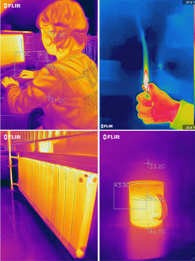 Thermal Imaging Camera infrared imager Night vision FLIR ONE PRO Use for  iphone ipad iOS or Android