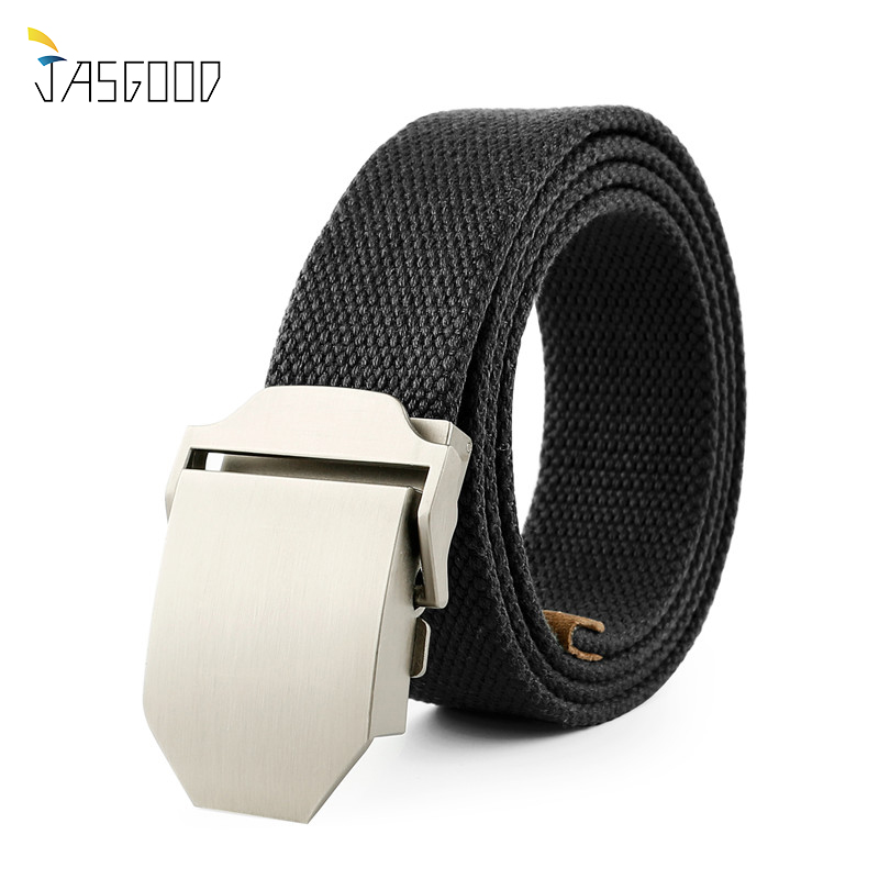5af923ce3cd4 JASGOOD 2017 Military Belt Outdoor Tactical Belt Men High Quality Belts For  Jeans Male Luxury Canvas Straps Cinturones Hombre -in Men s Belts from  Apparel ...