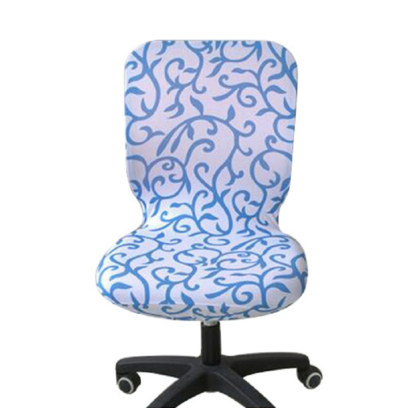 slipcover dining chairs baby shower chair covers elastic office spandex seat for computer cover stretch ...