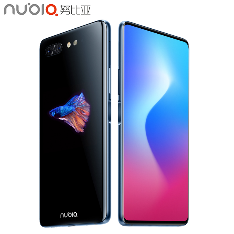 Nubia X Cell Phone 6.26 inch 6GB/8GB RAM 64GB/128GB ROM Snapdragon 845 Octa-core Android 8.1 Dual Camera 3800mAh Smartphone