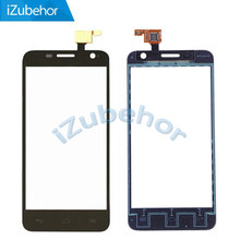 100% Garantie zwart Touchscreen Digitizer Voor Alcatel One Touch Idol Mini 6012 OT6012 6012A 6012D Door Gratis Verzending(China)