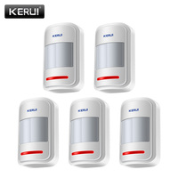 5pc Lot KERUI 433Mhz Wireless Intelligent PIR Motion Sensor Detector For Home Security Alarm System