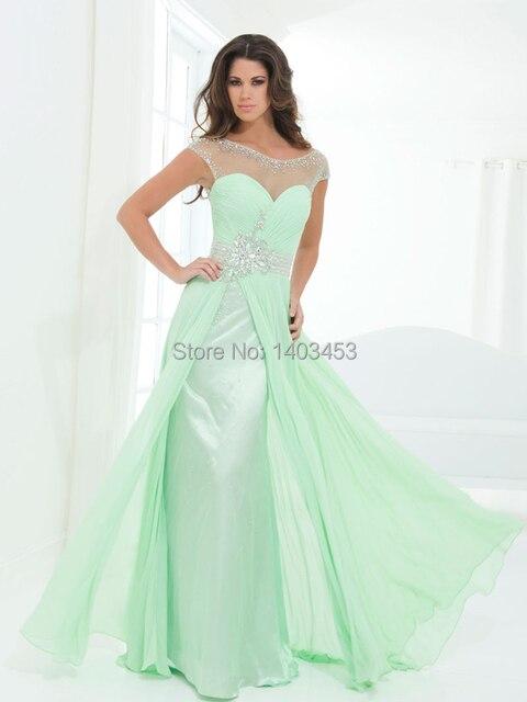 Vestidos color azul verdoso