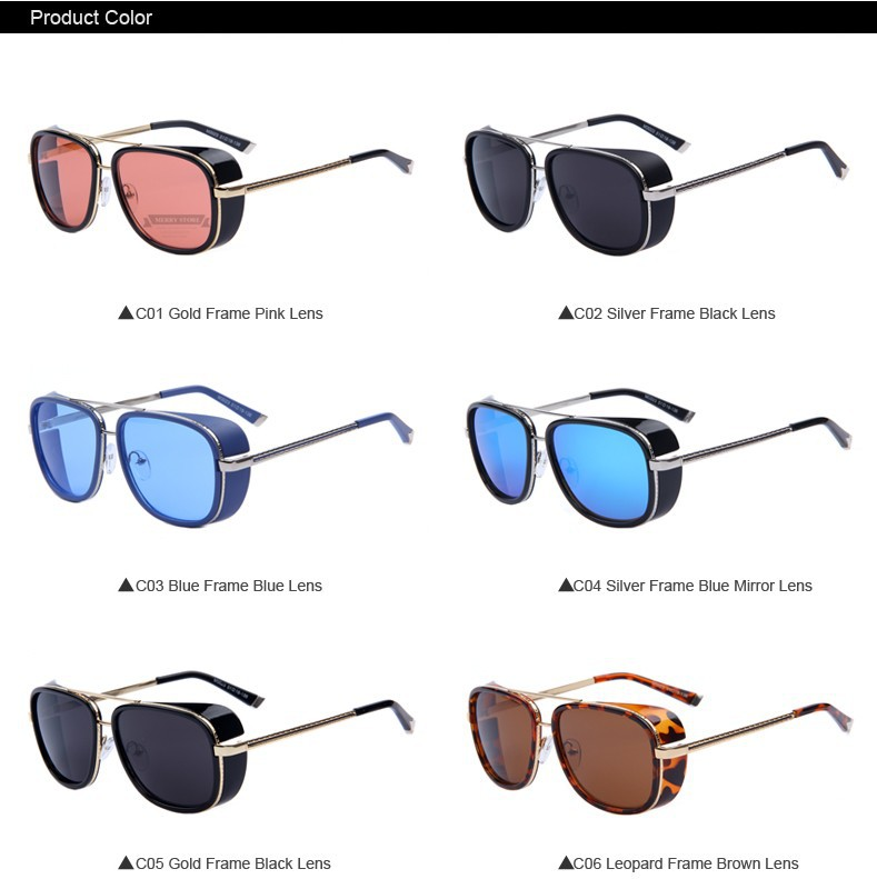 old fashioned sunglasses multiple color