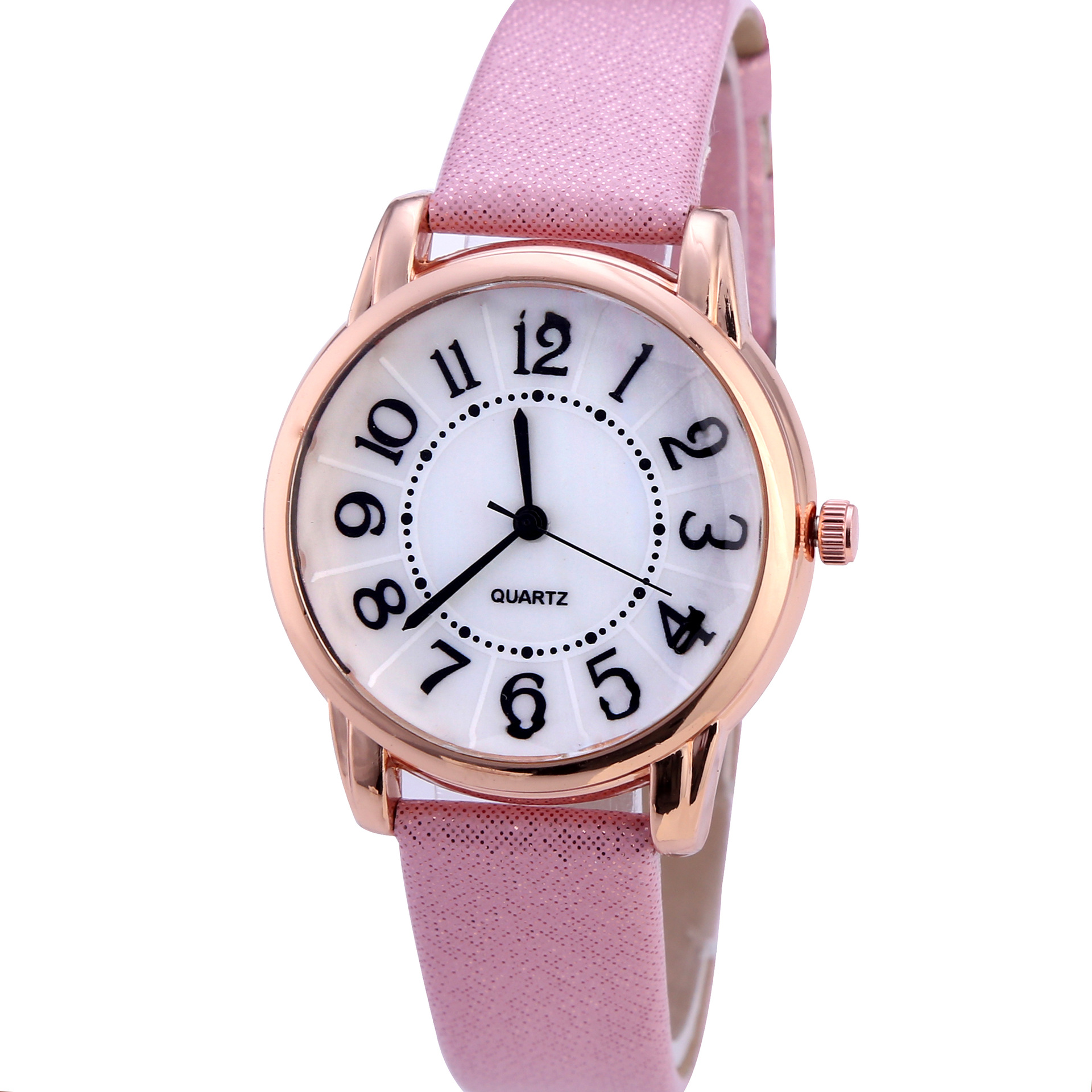 Women Bracelet Watch Simple Dial Wristwatches Casual Fashion Luxury Leather Strap Quartz Ladies Watches Clock Relogio Feminino(China)