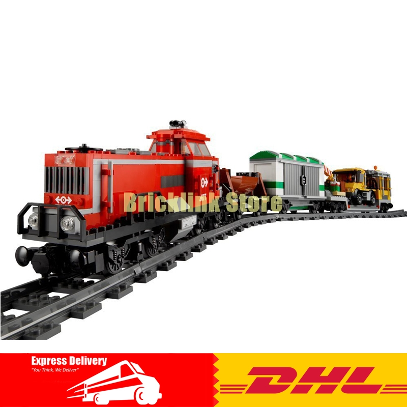 Lepin 02039 898pcs Red Cargo Train New City Series Building Block Compatible 3677 Brick Toy ролик kraftool 1 02039 25