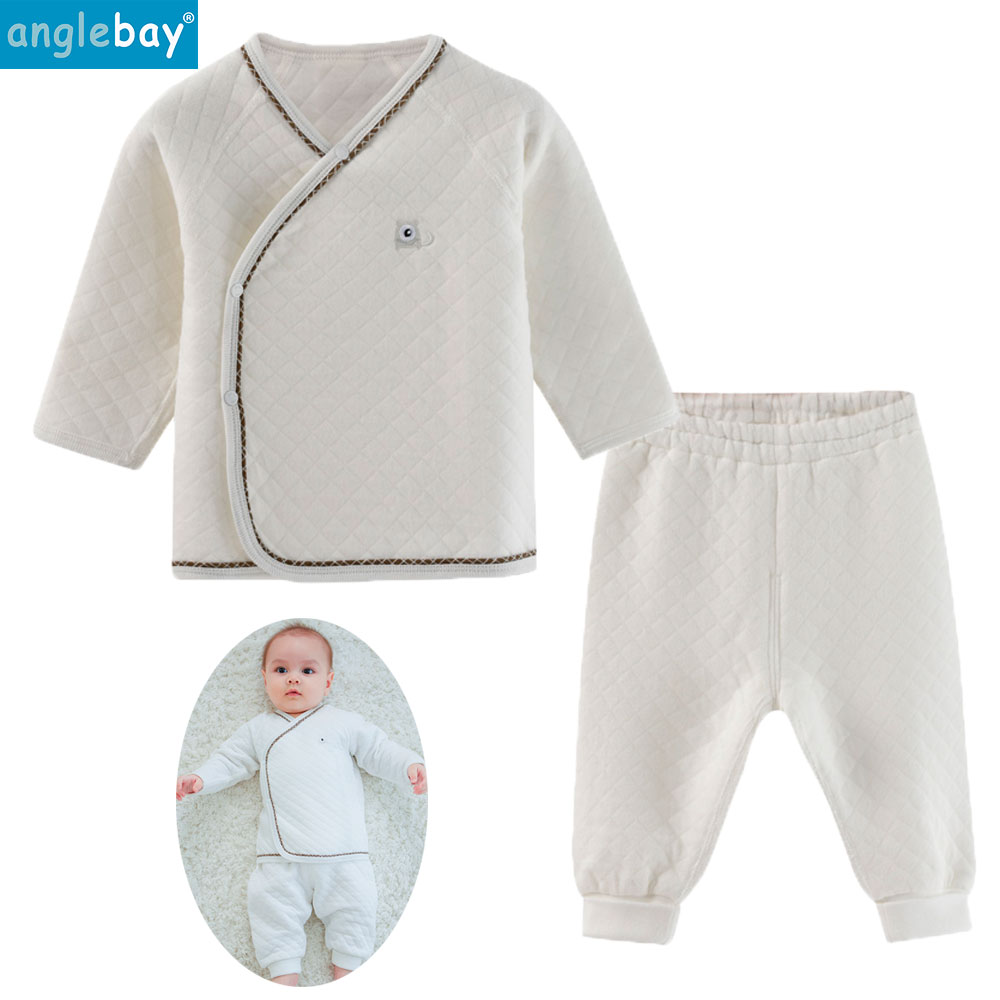 Anglebay Baby Girls Clothing Sets Newborn Baby Boy Clothes Set Long Sleeve Newborn Top and Pants Cotton Baby Girls Clothes Set cotton baby rompers set newborn clothes baby clothing boys girls cartoon jumpsuits long sleeve overalls coveralls autumn winter