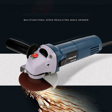 4-1/2 Angle Grinder Electric Variable Speed Electric Grinder Wheel Cut-off Tool for Grinding or Cutting Metal fast shipping at3102b multifunctional a tractor serves several purposes angle grinder cutting hand wheel electric