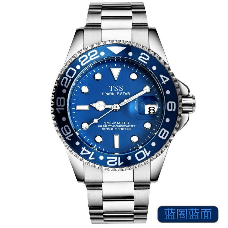 2018 Muhsein new watch fully automatic mechanical watch male mens watch waterproof luminous calendar army watch