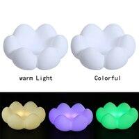 6 LED Novelty Mọng Nước Hoa Silicone Ánh Sáng Ban Đêm Childrens Phòng Ngủ Nursery USB Sạc Lưu Trữ Lamp đối với Phòng Trang Trí Nội Thất