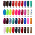 BelleFille Any 20 Pcs UV Gel Nail Colors Gel Nail Polish Gel Varnishes Blue Color Candy Coat Nail Polish UV LED Nail Gel Polish