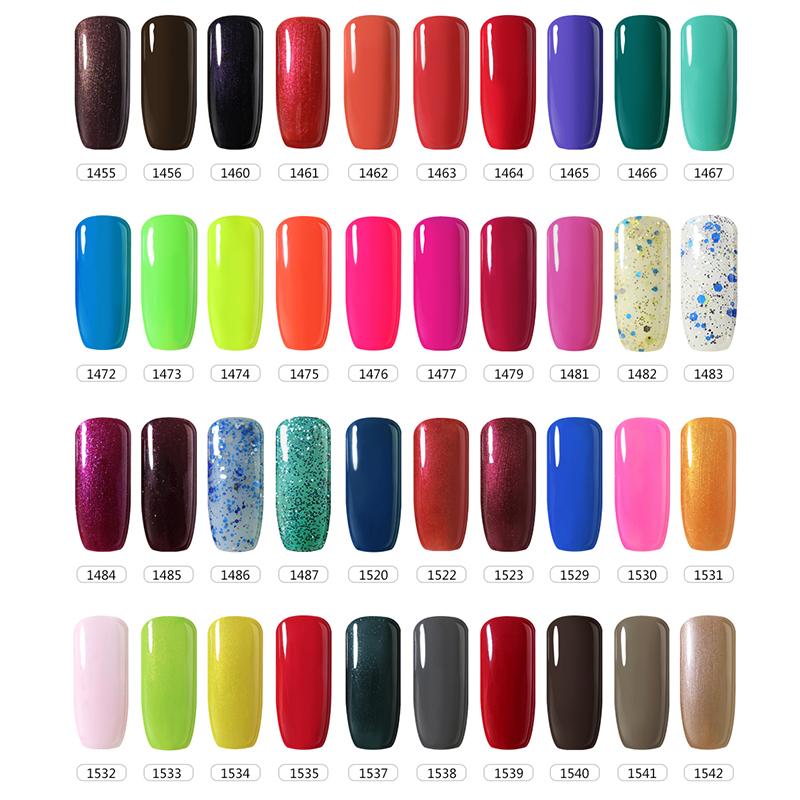 bellefille elke 20 stks uv gel nail kleuren gel nagellak gel vernissen blauw kleur candy coat. Black Bedroom Furniture Sets. Home Design Ideas