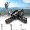 Ordro hdv-z8 1080 p full hd câmera de vídeo digital de tela de toque lcd digitales camaras fotograficas com lente telefoto 12x mini dv