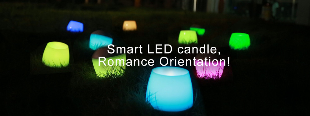 SMARTPHONE APP CONTROL: Wireless Control Your Smart Candleu0027s ON/OFF,  Brightness, Color, Color Effects And Timer Configurations From Your  Smartphone Or ...