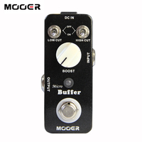 NEW Effect Guitar Pedal MOOER Micro Buffer Pedal True Bypass Thus Obtaining The Original Musical Sound