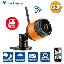 Новые CCTV Главная Безопасность Мини Беспроводной 720 P Ip-камера Wi-Fi открытый P2P Ик-Фильтр Видеонаблюдения Камера С TF Слот Для Карты ABS