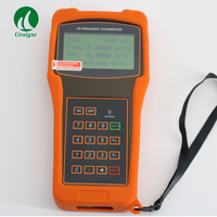 Portable High Accuracy Digital Liquid Ultrasonic Flow Meter TUF-2000H with TS-2 Transducer DN15-100mm with Large-screen LCD