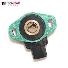CENWAN Throttle Position Sensor 16402RAAA02 For Honda Accord LX EX 2 Door 4 2.4 03-05 Element DX 03-06