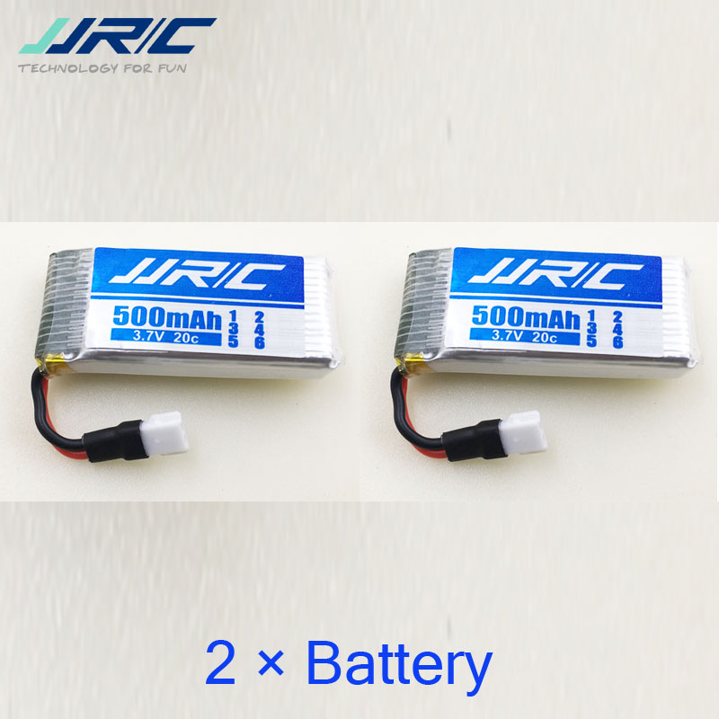 Original JJRC H43WH battery  for H43WH  H43 RC Quacopter Spare Parts Accessories 3.7V 500mAh lipo Battery   (In stock ) original eachine e56 jjrc h47 rc