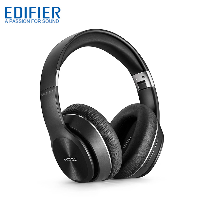 EDIFIER W820BT Wireless Bluetooth Headphone Over Ear Noise Isolation HIFI Stereo Bluetooth 4 1 Headset With