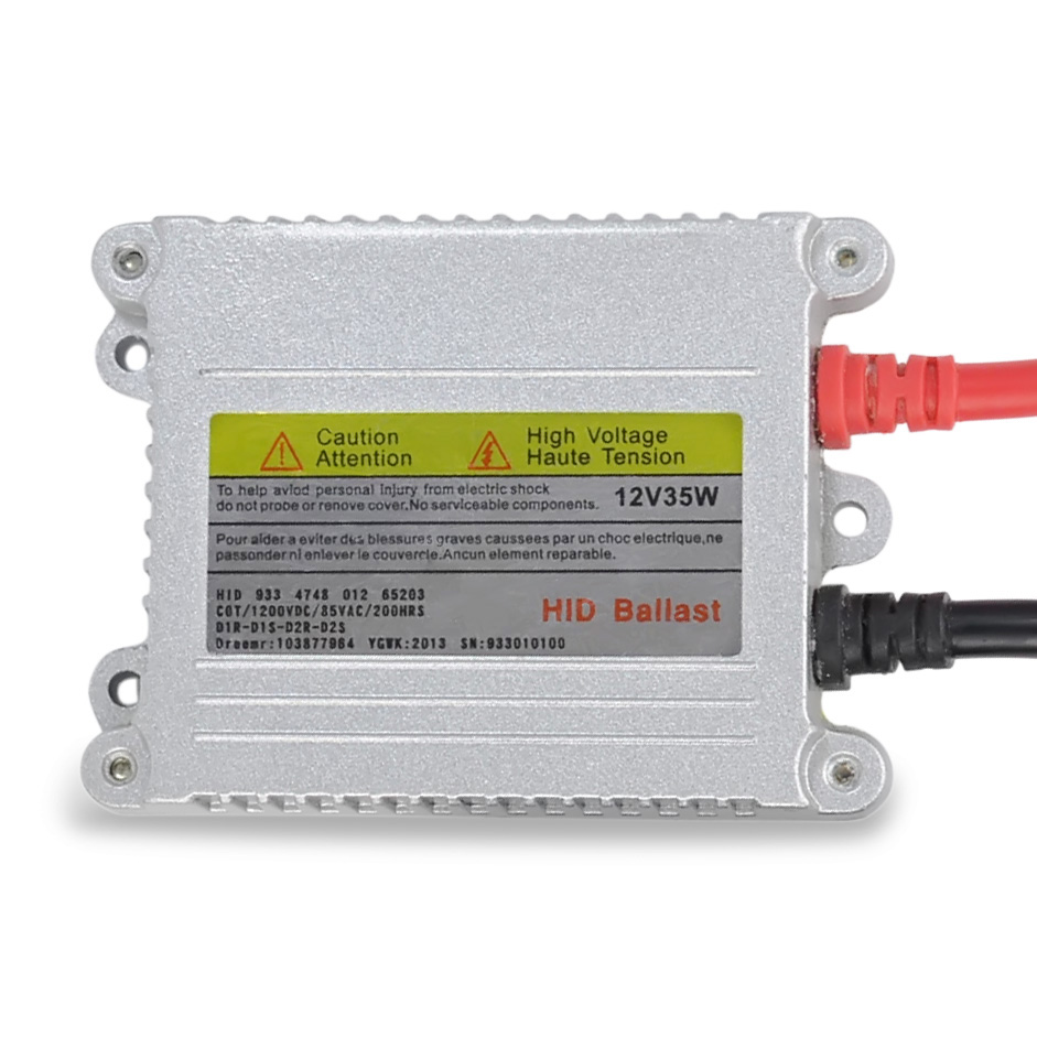 цена на 1pcs 12V hid xenon ballast 35W Digital slim hid ballast 35w blocks ignition electronic ballast for HID kit xenon H7 H4 H1 H3 H11