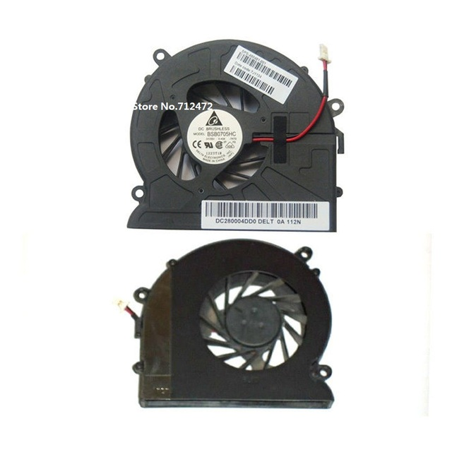 New CPU Cooling Fan for HP Pavilion DV7 DV7-1000 DV7-1100 DV7-1200 dv7-1245dx laptop fan BSB0705HC 7K72