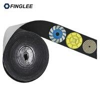 5 Meters 10cm Width Black Hook Self Adhesive Fastener Strong Tape Hook And Loop Adesivo Sugru