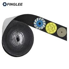 5 Meters 10cm Width Black Hook Self Adhesive Fastener Strong Tape Hook and Loop adesivo sugru Tape adhesive Polishing Pads