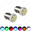 4pcs 7-Color T4W BA9S 8-LED 1206SMD Interior Car LED Light Reading Dome Lamps Marker Light DC12V  #CA1532