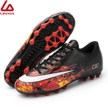 New Unisex Football Boots Breathable Professional Outdoor Lawn Soccer Shoes Adult Teenager Trainning chuteiras