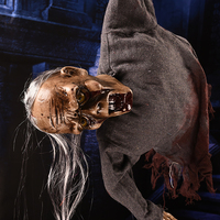 Hot Halloween Props Horror Hanging Ghost Witch Scary Haunted House Bar Halloween Party Decoration 2018 New
