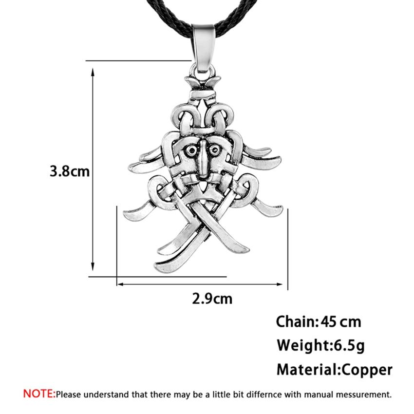 Kinitial Vintage Men S Viking Knot Necklace Nordic Odin S Mask Pendant Norse Pendant Slavic Runes Choker Jewelry Drop Shipping Pendant Necklaces Aliexpress