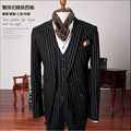 Wedding Suits for Men Stripe Suits Jacket Costume Homme Trajes de Hombres de Vestir Men Blazer Slim Fit Men Suit