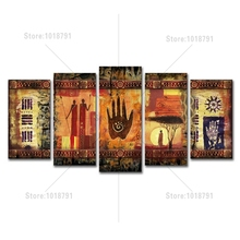 5D DIY Diamond Painting African Cross Stitch Kits Full Embroidery Mosaic Decor 5pcs
