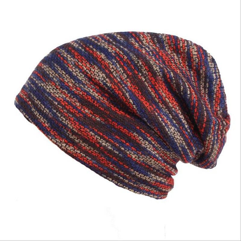 BINGYUANHAOXUAN New Winter Cap Men and Women Winter Warm Wool Hat Skullies Beanies Outdoor Plus Cashmere Warm Knitted Hat