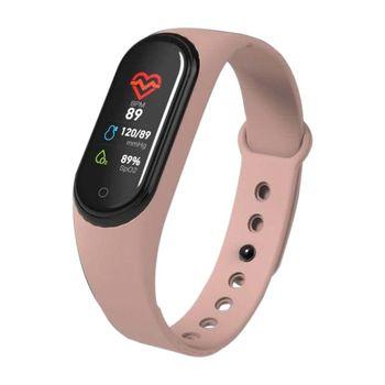 4d780873c8f2 Reloj inteligente Q11 pulsera de Fitness resistente al agua Mensaje ...