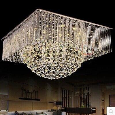 Platz Cesign LED Kristallkugel Kugel Deckenleuchte Lster Lampe Startseite Beleuchtung Fr WohnzimmerChina