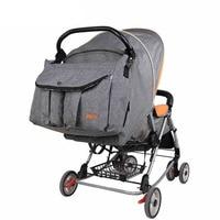 Пеленки сумки большой емкости тележка подгузник мать Путешествия Рюкзак Детские для беременных детской коляски уход сумки женские Мама Му