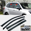 FOR 2008-2012 SUBARU FORESTER SIDE WINDOW RAIN DEFLECTORS GUARD VISOR WEATHER SHIELDS DOOR SHADE CAR ACCESSORIES 2011 2010 2009