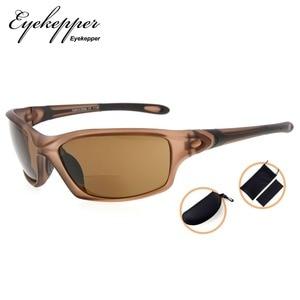 Image 5 - SG903 Eyekepper TR90 Frame Bifocal Sports Sunglasses Baseball Running Fishing Driving Golf Softball Hiking Readers