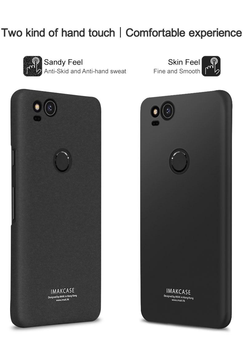 low priced 75b8f bbdc7 For Google Pixel 2 XL Case Original Imak Cowboy Shell Thin Hard Phone Case  Cover For Google Pixel 2 Case Bumper