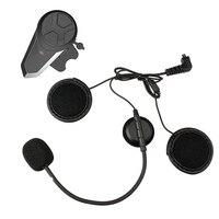 Intercom FM Radio Long Standby Helmet Headset Professional Lightweight Earphone Portable Noise Cancellation Bluetooth Motorcycle
