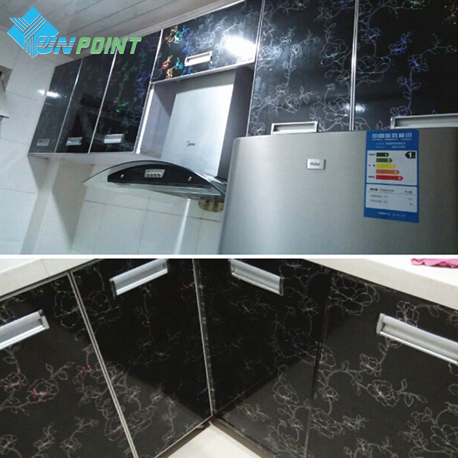 3M/5M Bright Paint Waterproof Wall Stickers Kitchen Furniture ...