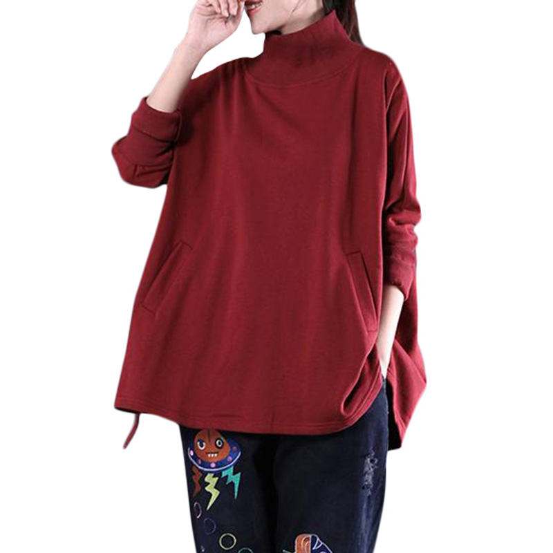 Kingdom Creations Be You Be Different Womens Hooded Pullover Dress Tunic Long Sweatshirt